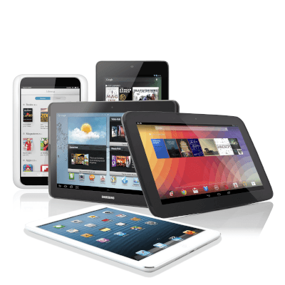 All Round electronics tablets
